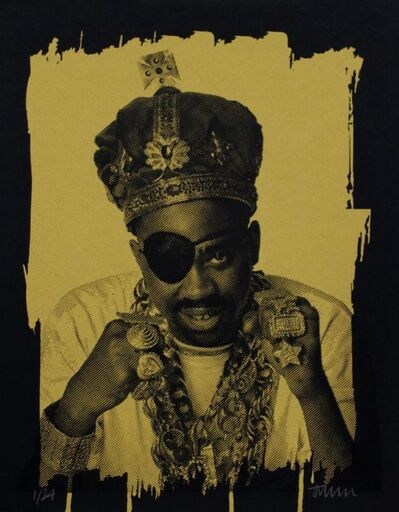 Janette Beckman, 'Legends of Hip Hop - Slick Rick, New York , 1988 (FRAMED)', 2017