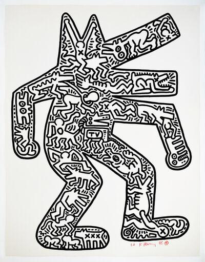 Keith Haring, 'Dog', 1986-1987