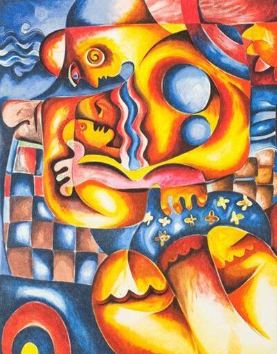 Alexandra Nechita, 'Mama's Lullaby', 2001