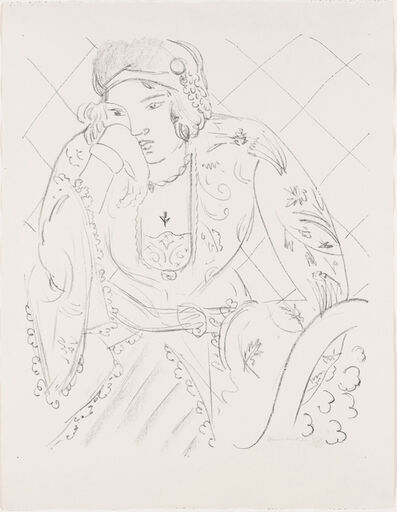Henri Matisse, 'Oriental with Trileaf Cross', 1929