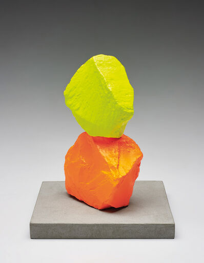 Ugo Rondinone, 'Small Orange Yellow Mountain', 2014