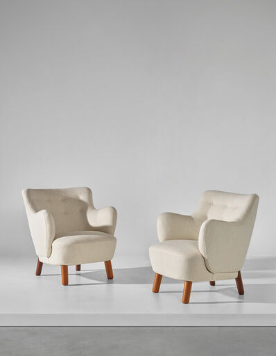 Edvard and Tove Kindt-Larsen, 'Pair of armchairs', 1938