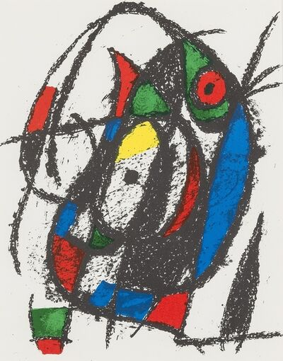 Joan Miró, 'Untitled; Untitled (from Lithographe II) (Cramer 198)', 1975