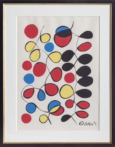 Alexander Calder, 'Venusiennes', 1971
