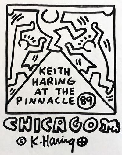 Keith Haring, 'Keith Haring at The Pinnacle ', 1989