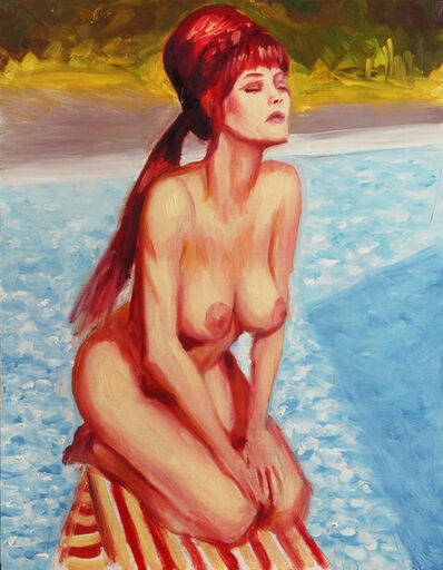Mitch Gillette, 'Sunbather (Color Study)', 2001
