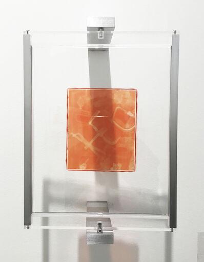 Henry Hudson, 'Woodburytype Print of Study Plate 3, Protest - (orange)', 2015