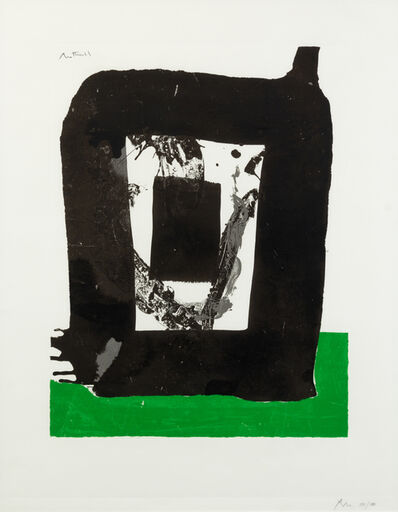 Robert Motherwell, 'Untitled (pl. 8 from The Basque Suite)', 1970