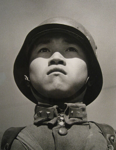 Robert Capa, '(15 year old Chinese Soldier Prior to Departing for the Sino-Japanese Battle Front)', 1938