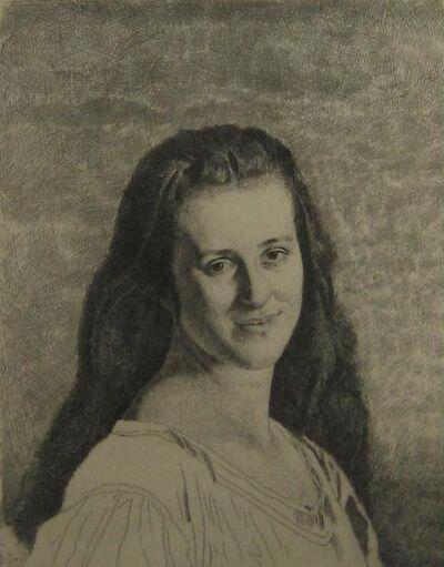 Gerald Leslie Brockhurst, 'Anais', 1930
