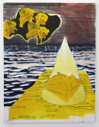 Matti Harel, 'Yellow Mountain', 2018