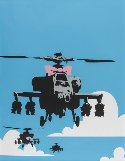 Banksy, 'Happy Choppers'