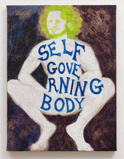 Katie Herzog, 'Self Governing Body', 2018