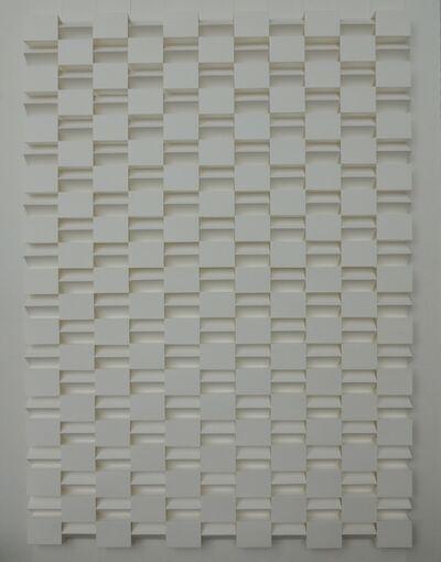 Emile Circkens, 'Structuur reliëf No.1', 1976