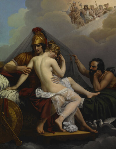 Alexandre Charles Guillemot, 'Mars and Venus Surprised by Vulcan', 1827