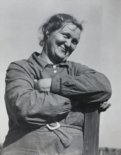 Dorothea Lange, 'Rural rehabilitation client, Tulare County, California, November', 1938