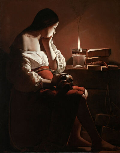 Georges de La Tour, 'Mary Magdalen with the Smoking Flame', ca. 1640