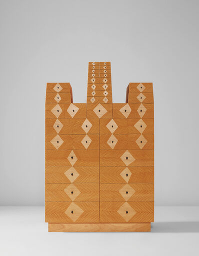 """Judy Kensley McKie, '""""Chest with Diamonds and Dots""""', 1997"""