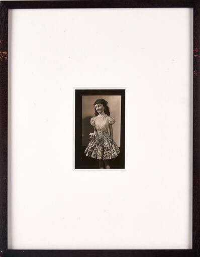 Morton Bartlett, 'Untitled (Teenage Girl Holding Flowers)', ca. 1950