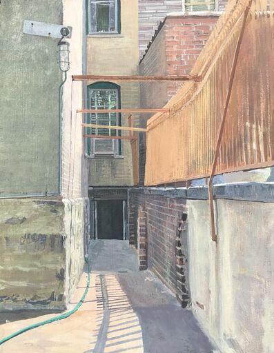 Walter Strach, 'My Backyard in Greenpoint', 1982
