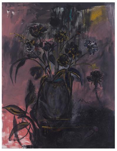 Bracha Bienvenida Guy, 'Black Flowers', 2016