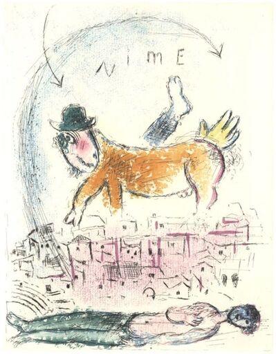 Marc Chagall, 'De Mauvais Sujets V', 1958