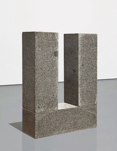 Carl Andre, 'Manet Post and Threshold', 1980