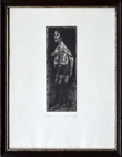 Alfred Hrdlicka, 'Prostituierte', 1961