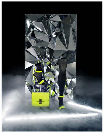 Josephine Meckseper, 'TK [W image no. 4, Neon monolith]', 2010
