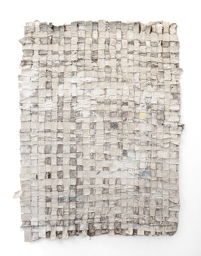 Jodie Carey, 'Untitled (Hessian and Canvas) I', 2016