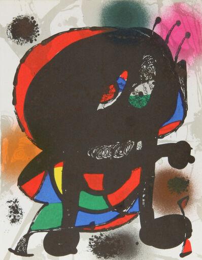 Joan Miró, 'Lithograph III (1115)', 1975