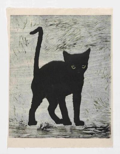 Mamma Andersson, 'Black Cat', 2015