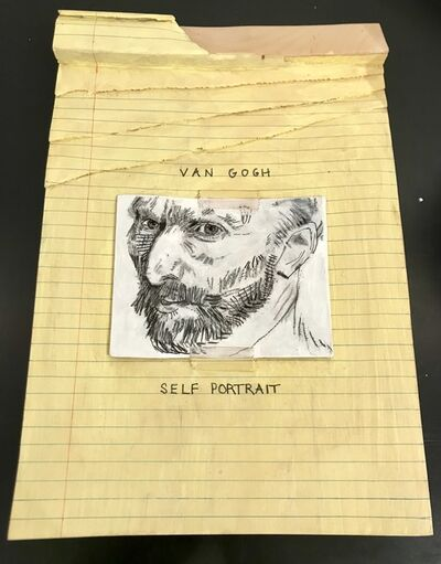 Randall Rosenthal, 'Legal Pad - Van Gogh', 2016