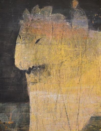 Keizaburo Okamura, 'Lion', 2015