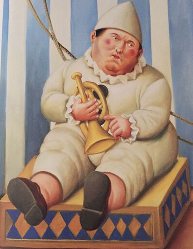 Fernando Botero, 'Pierrot (Clown)', 2007