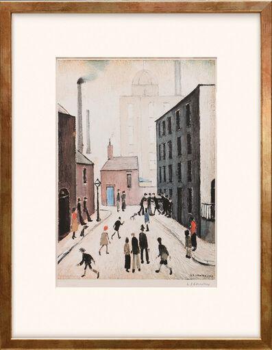 L.S. Lowry, 'Industrial Scene.', 1974