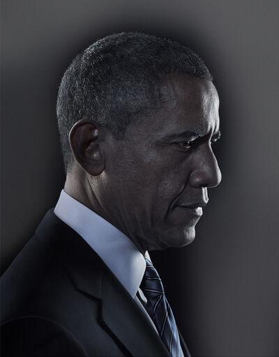 Nadav Kander, 'Barack Obama III', 2012