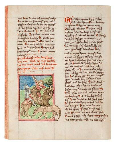 Anonymous, 'Ulrich von Pottenstein: 'Buch der natürlichen Weisheit'', 1453