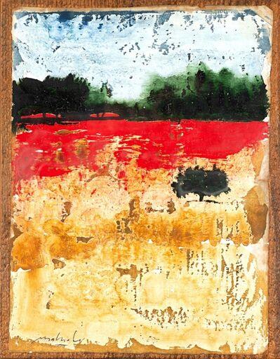 Carlo Mattioli, 'Albero nel campo'