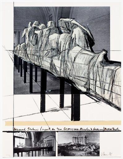 Christo, 'Aegena Temple Project for Munich Glyptotek', 1988