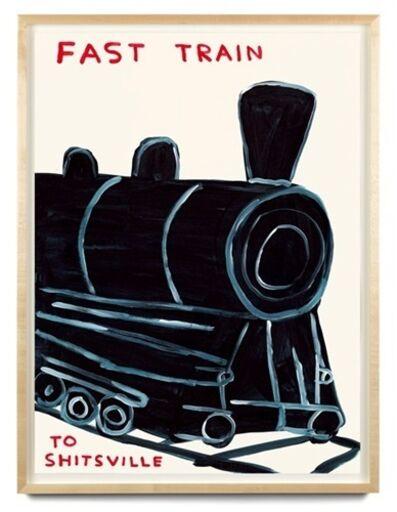 David Shrigley, 'Untitled (Fast Train)', 2021