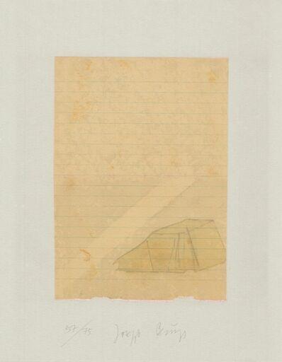 Joseph Beuys, 'Schwurhand: Zelt und Lichtstrahl', 1970-1980