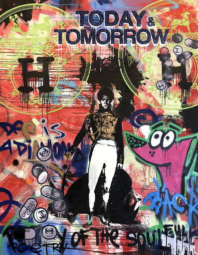 Skyler Grey, 'Today and Tomorrow King Basquiat ', 2018