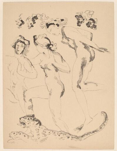 Arthur Bowen Davies, 'Bacchantes', 1920
