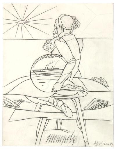 Valerio Adami, 'Monopoly', 1996