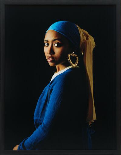Awol Erizku, 'Girl with a Bamboo Earring', 2009