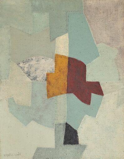 Serge Poliakoff, 'Gris, vert et bleu ', 1955