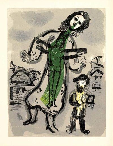 Marc Chagall, 'Où est le Jour (Poèmes, #13)', 1968