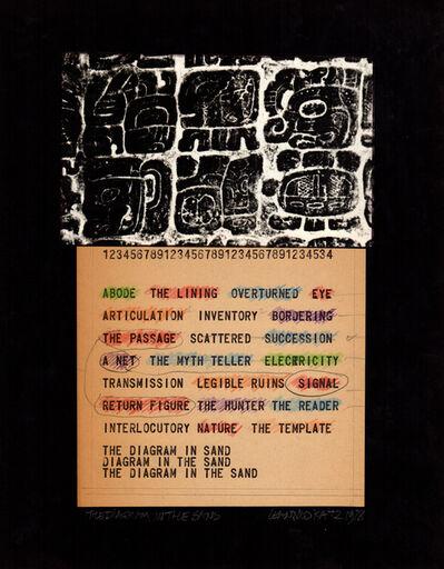 Leandro Katz, 'The Diagram in the Sand II', 1970