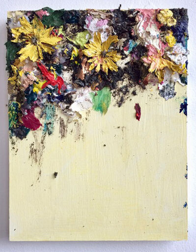 Sarah Meyers Brent, 'Floral Collage, Yellow', 2018